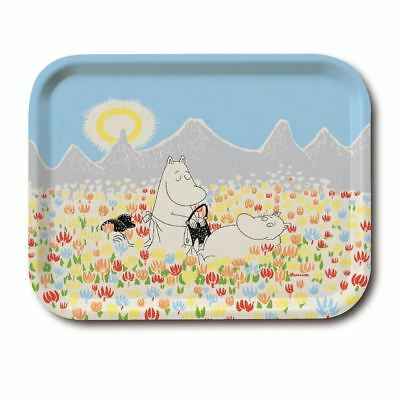 MOOMIN handmade birch wood tray MEADOW
