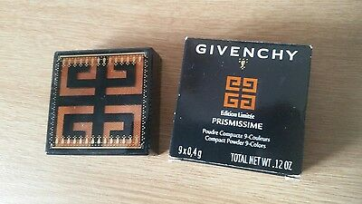 Discontinued GIVENCHY PRISMISSIME COMPACT POWDER 9 COLOR #22 in APRICOT