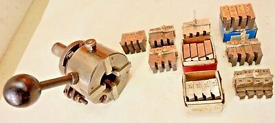 """GEOMETRIC 1"""" """"DS"""" STYLE THREADING DIE HEAD w/ 1-1/4"""" SHANK With Chasers"""