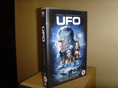 Ufo Tv Series Complete (2018 Uk Release) 8 Disc Dvd Set, New, Not Sealed.