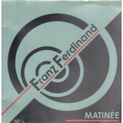 FRANZ FERDINAND Matinee DVD Europe Domino 2004 4 Track Featuring Video B/W Live