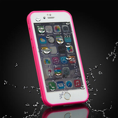 360° Full Waterproof Silicone Phone Case Cover For iPhone X XR 6 6s 7 8 Plus 6 5