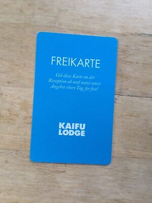 Kaifu Lodge Hamburg Tageskarte Freikarte Fitness Club
