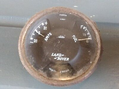 Land Rover Series 1 2 2A Fuel Temperature Gauge Instruments For Renovation