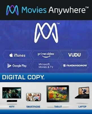 Movies Anywhere - DC - Digital - From 4K UHD and Blu-ray - Many to choose from