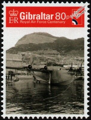 WWII RAF Short SUNDERLAND S.25 Flying Boat Seaplane Aircraft Stamp (2018)