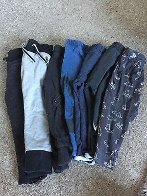 Zara boys leggings x 4 My K (Myleen klass For Motgercare) Joggers x 3 Age 2-3 Yr