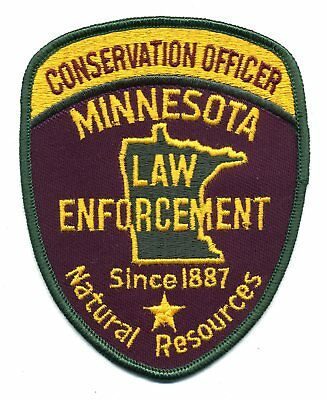 Minnesota Conservation Officer patch - MN Fish & Game wildlife police DNR
