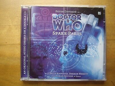 Doctor Who Spare Parts, 2002 Big Finish audio book CD *RARE*