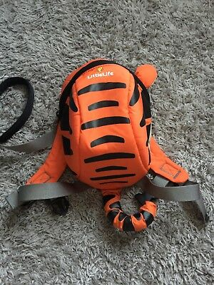 Tiger Little life backpack with reins Excellent Condition