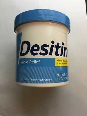 "Desitin ""Rapid Relief"" Baby Diaper Rash Relief 16 Oz. Exp 04/20"