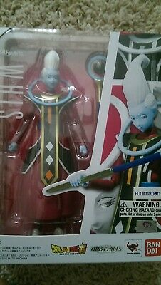 Bandai Tamashii Nations S.H. Figuarts Whis Dragon Ball Z Action Figure NEW