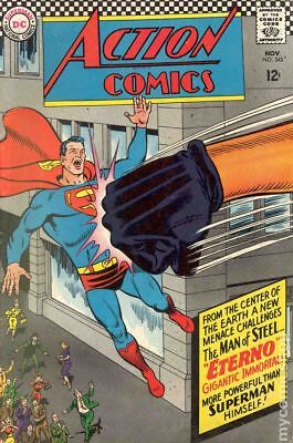 Action Comics (DC) #343 1966 FN Stock Image