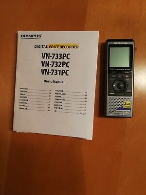 Olympus VN-731 PC Digital Voice Recorder