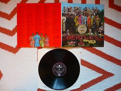 The Beatles Sgt Pepper's Lonely Hearts Club Band Vinyl UK 1970 1 Box EMI LP EXC