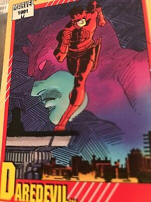 Daredevil # 2 - 1991 Marvel Universe Series 2 Impel Base Trading Card