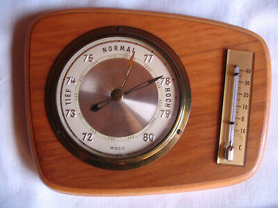 MOCO Wetterstation Barometer /Thermometer
