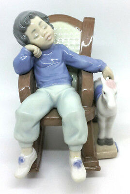"""LLADRO """"All Tuckered Out"""", No. 5846 - RETIRED IN 2004!!!"""