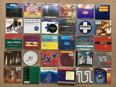 Collection of 181x CD Singles / 1990's Dance Music