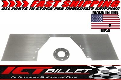 BBF Mid Plate Solid 429 460 Motor Engine Mount Ford Big Block Plate Aluminum