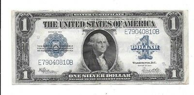 1923 $1 Large Horse Blanket Silver Certificate