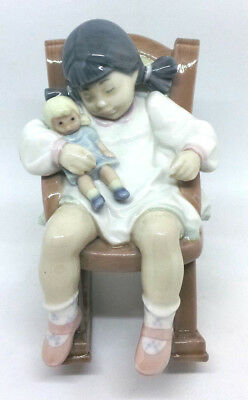 """LLADRO FIGURINE """"Naptime"""", No. 5448 - RETIRED IN 2004 IN EXCELLENT CONDITION!!!"""