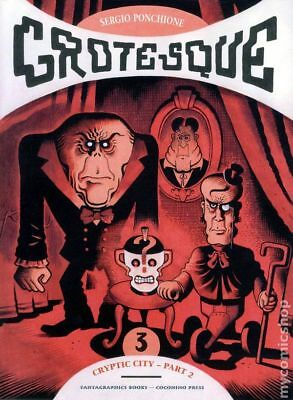 Grotesque GN (Fantagraphics) #3-1ST 2009 NM Stock Image