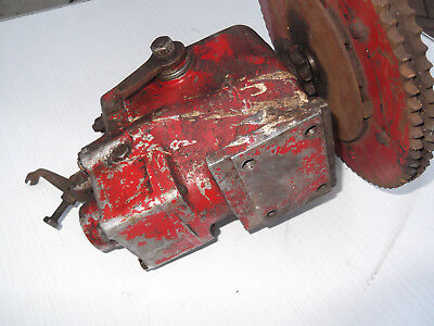 Albion  motorcycle/agricultural type gearbox with clutch