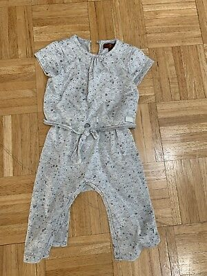7 For All Mankind Romper (baby girls 6-9mo)