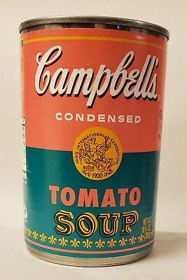 2012 Andy Warhol Limited Edition 50th Anniversary Campbell's Tomato Soup Can
