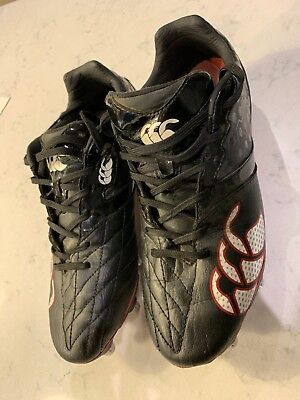 Canterbury Phoenix Club 8 Stud Soft Ground Rugby Boots Size Uk 7