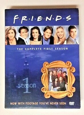 Friends - The Complete First Season (2002 DVD 4-Disc Set Playtested) Lisa Kudrow