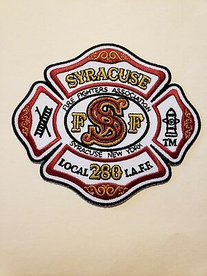 Syracuse Fire Department Patch IAFF