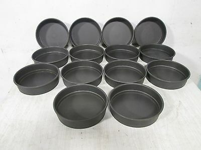 """Lot Of (14) """"american Metal"""" Hd Commercial 8""""round Non-Stick Coated Baking Pans"""