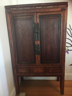 Antique Chinese Cabinet Rare Find