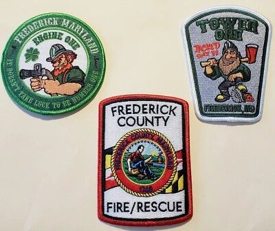 Frederick County Fire Department Patches