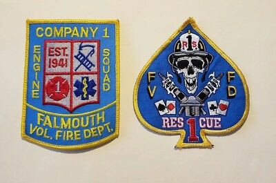 Falmouth Virginia Fire Department Patches