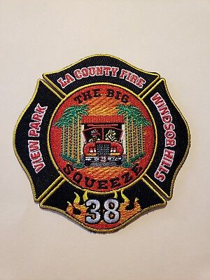 Los Angeles County Fire Department Patch Station 38