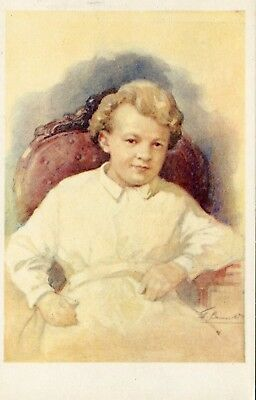Russia Lenin as a Child 1969 postcard