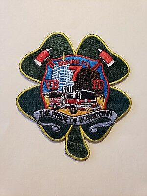 Virginia Beach Fire Department Patch Engine 7