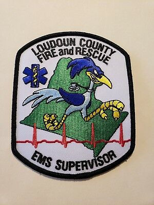 Loudoun County Fire Department Patch EMS