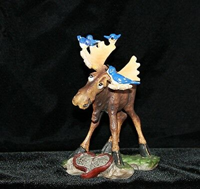Whimsical Moose by Big Sky Carvers/ Phyllis Driscoll Mountain Mooses 2007