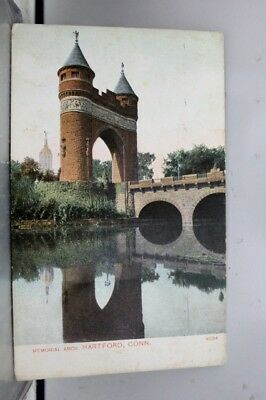 Connecticut CT Hartford Memorial Arch Postcard Old Vintage Card View Standard PC