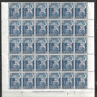 Collection Lot Of 190 Aden Kathiri & Qu'aiti State Mnh Clearance 1946 7 Scan