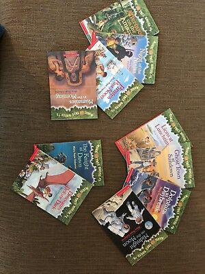 TEN-PACK BUNDLE/LOT OF MAGIC TREE HOUSE BOOKS~ Home School Children's Chapters