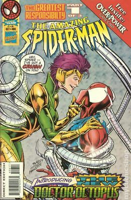 Amazing Spider-Man (1st Series) #406 1995 VF Stock Image