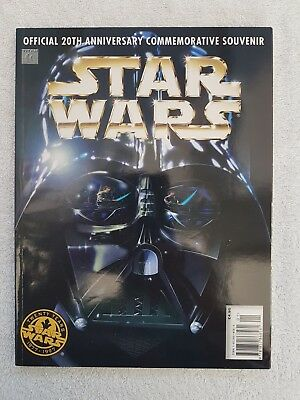 Official 20th Anniversary Star Wars Commemorative Souvenir Magazine 1997 First