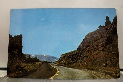 Wyoming WY Buffalo Big Horn Mountains Entrance Postcard Old Vintage Card View PC