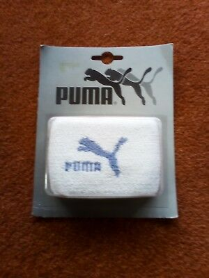 White Puma Tennis/sports  Wristband. New
