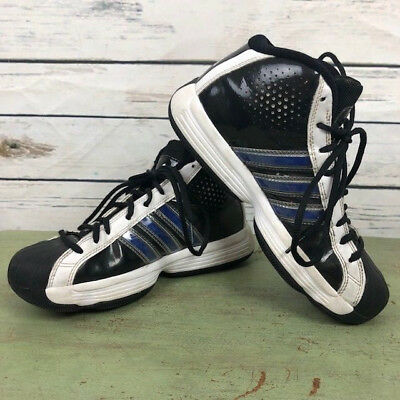 brand new 1345b d768b Adidas Pro Model mens 5.5 high top classic lace tennis shoes sneakers